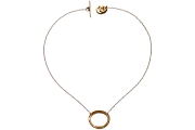 gold oval neckpiece   $220.00   item 05-085