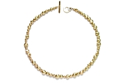 10K gold nugget (long drilled) neckpiece   $4,495.00   item 06-123