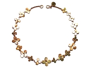 multi 10K gold bloom neckpiece   $1,495.00   item 06-240